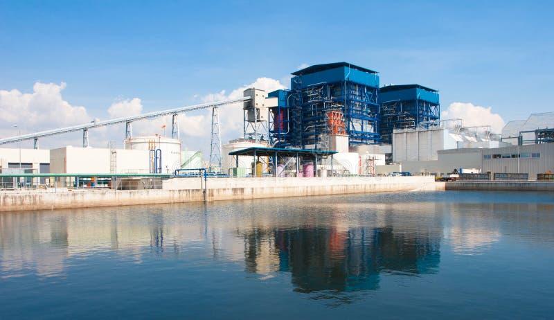 De elektrische generatorelektrische centrale royalty-vrije stock foto
