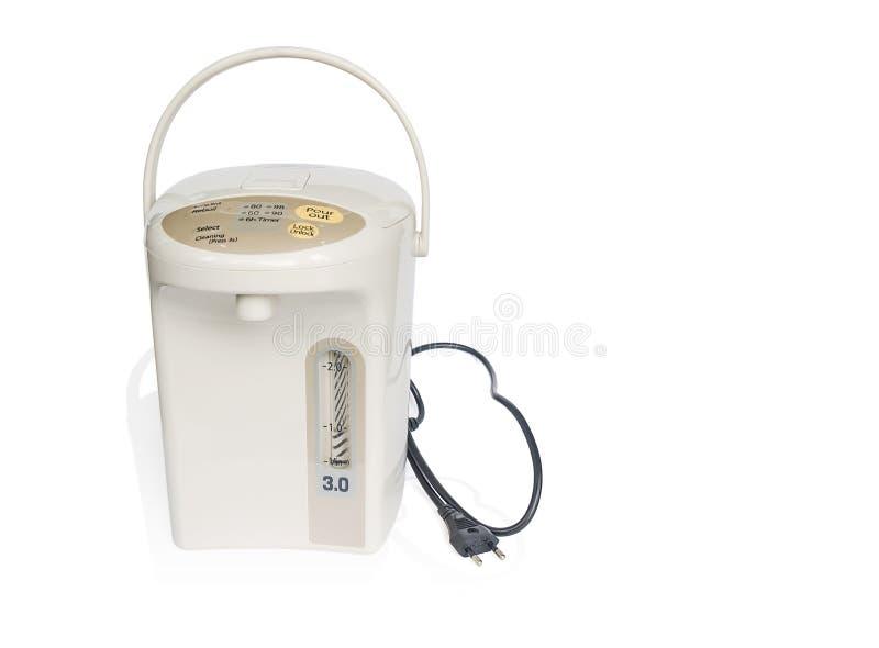 De elektrische pot van de waterboiler royalty-vrije stock foto