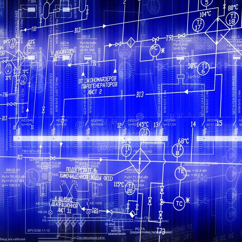 De elektrische regeling stock illustratie