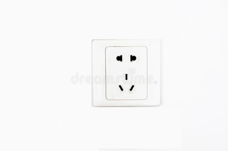De elektrische Vergaarbak van de Afzet van de Muur stock fotografie