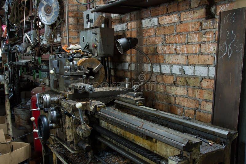 De elektromolen van de malende machinebank royalty-vrije stock foto