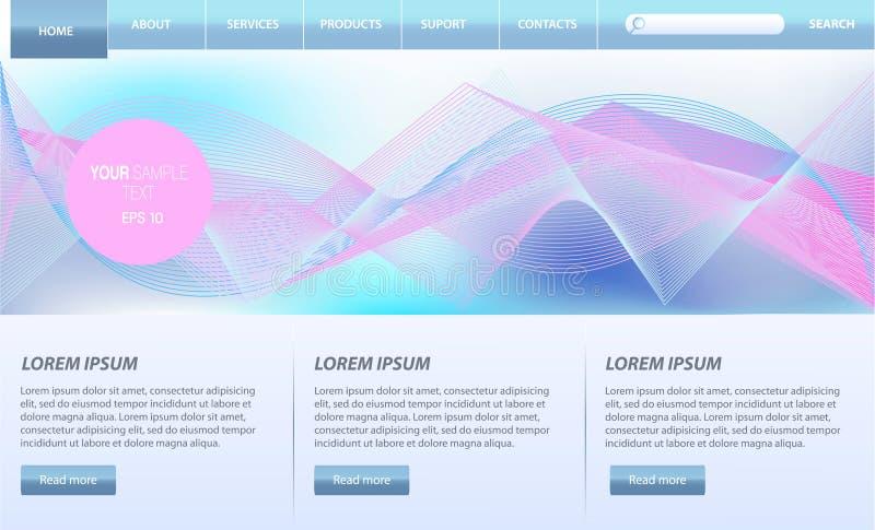 De Elementen van de website