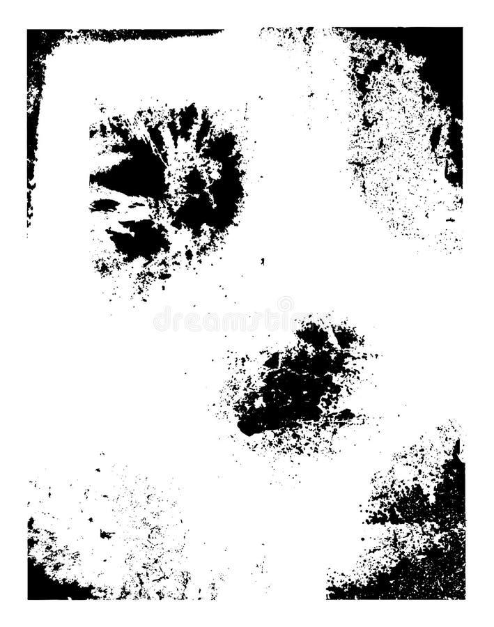 De Elementen van Grunge stock illustratie