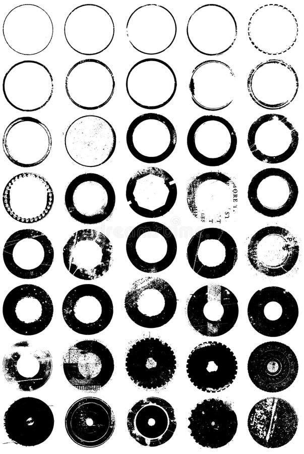 De Elementen van Grunge royalty-vrije illustratie