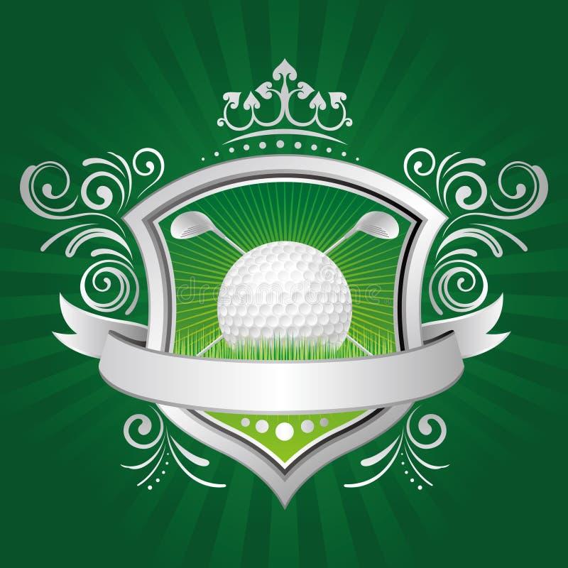 de elementen van het golfontwerp royalty-vrije illustratie