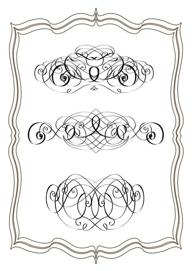 Download De Elementen Van Het Ontwerp Vector Illustratie - Illustratie bestaande uit elementen, deco: 10783324