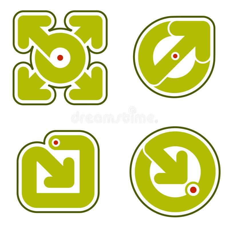 De Elementen van het ontwerp 31b royalty-vrije illustratie