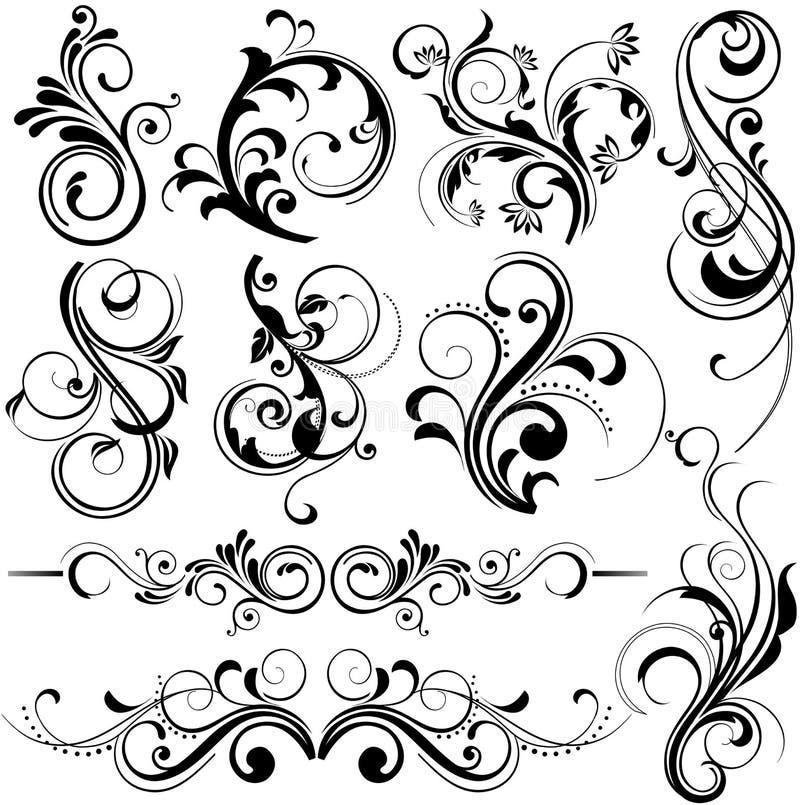 Download De Elementen Van Het Ontwerp Vector Illustratie - Afbeelding: 5423633