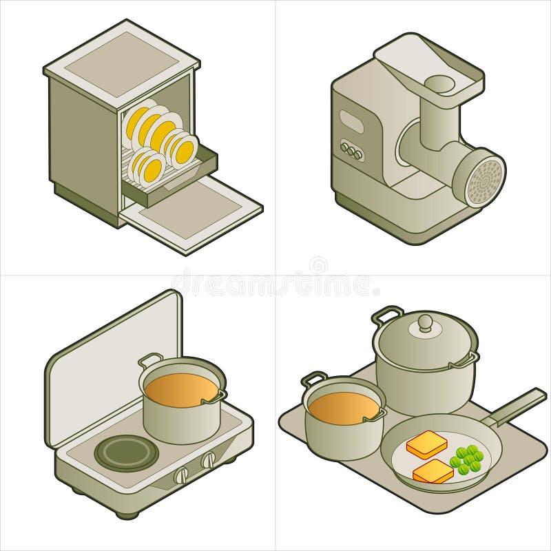 Download De Elementen Van Het Ontwerp P. 14d Vector Illustratie - Illustratie bestaande uit teken, instrumenten: 288085