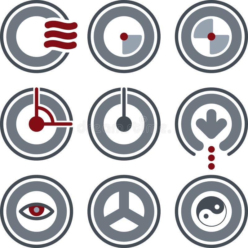 De Elementen van het ontwerp p. 7a vector illustratie