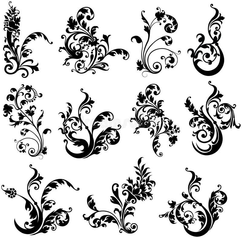 De Elementen van het ontwerp van Installatie royalty-vrije illustratie