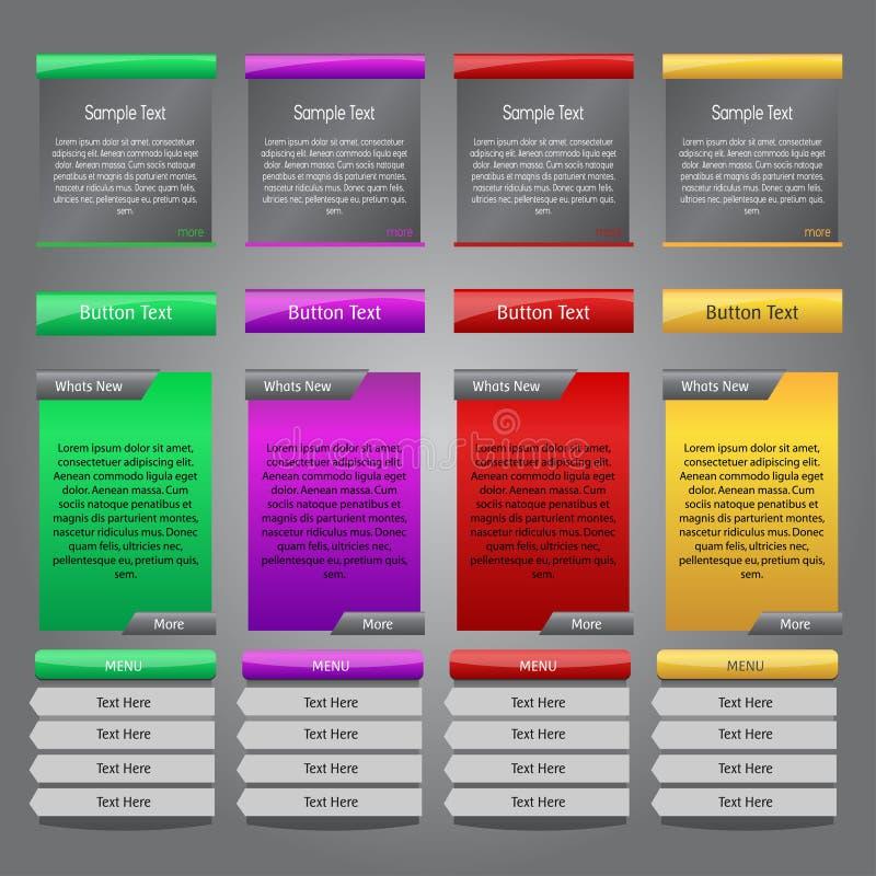 De Elementen van het Web vector illustratie