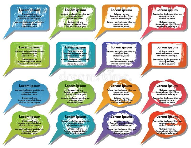 De elementen van Infographic stock illustratie