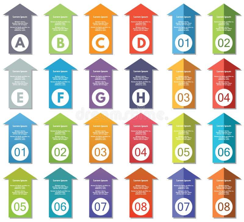 De elementen van Infographic #24 stock illustratie