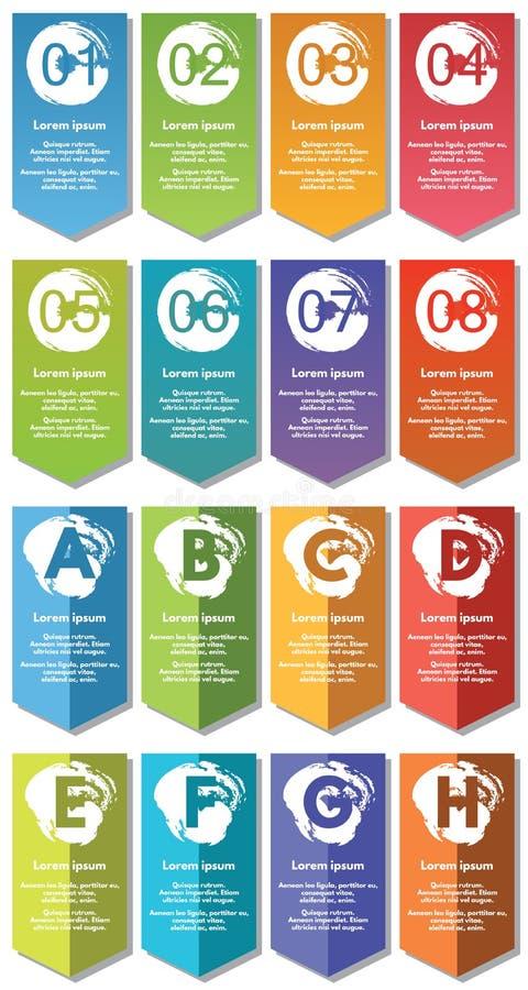 De elementen van Infographic #31 stock illustratie