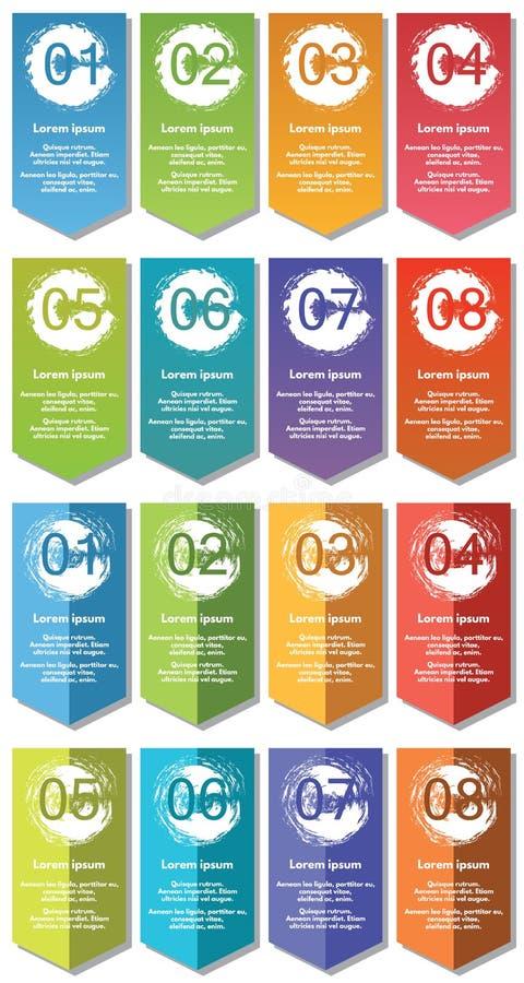 De elementen van Infographic #32 stock illustratie