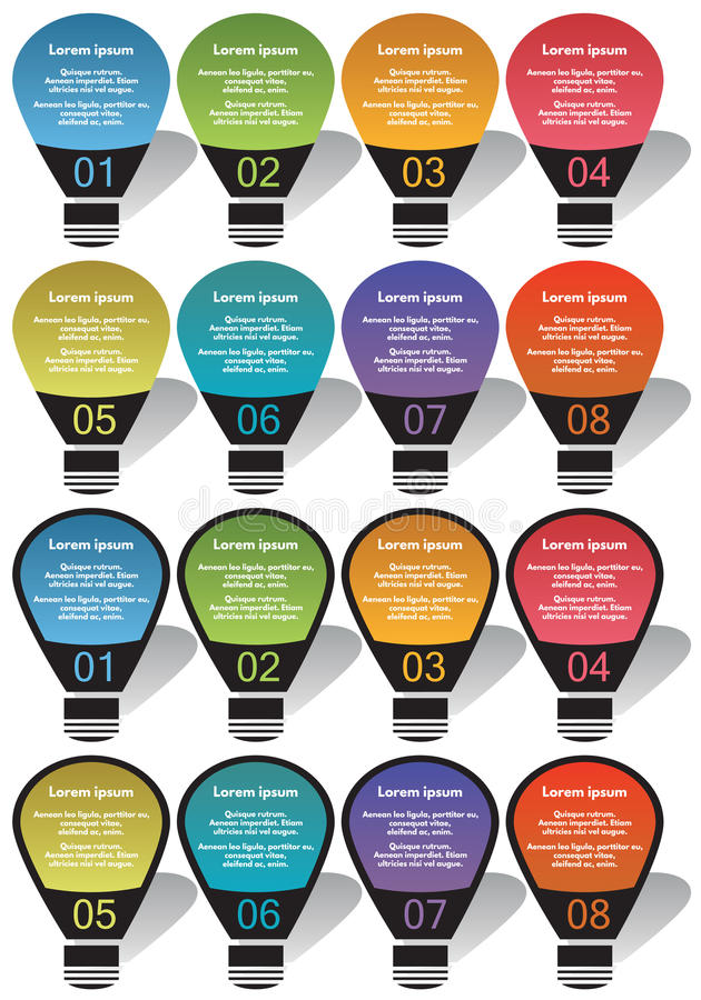 De elementen van Infographic #29 vector illustratie