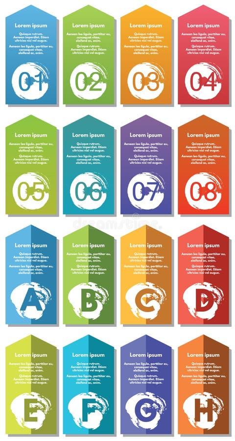 De elementen van Infographic #33 royalty-vrije illustratie