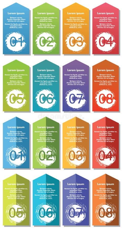 De elementen van Infographic #34 stock illustratie