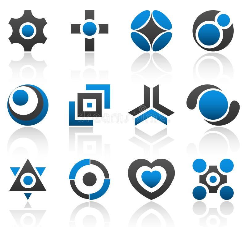 De elementendeel 4 van het ontwerp royalty-vrije illustratie