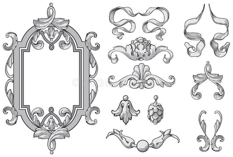 De elementenvector van het ontwerp royalty-vrije illustratie