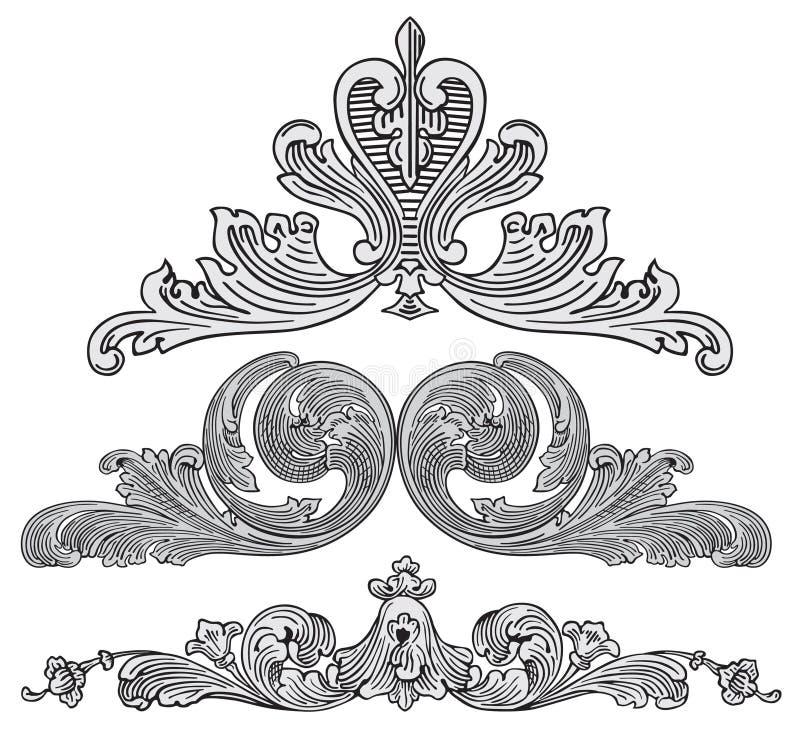 De elementenvector van het ontwerp stock illustratie