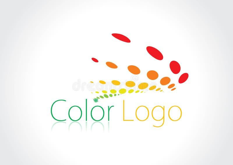 De emblemen van de kleur vector illustratie
