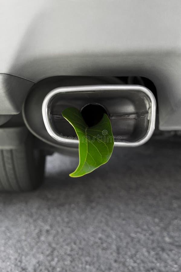 De Emissies van het voertuigBroeikasgas royalty-vrije stock afbeeldingen
