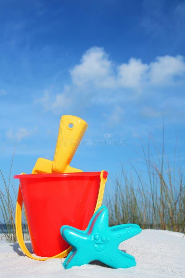 De Emmer van het strand royalty-vrije stock foto's