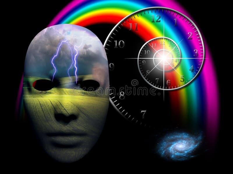 De emotionele mening vector illustratie