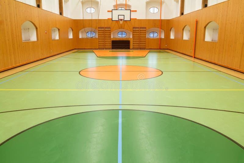De Empt interior basketbally del público foto de archivo libre de regalías