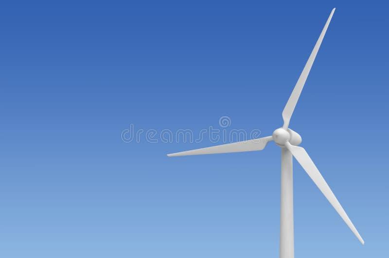 De energie alternatieve elektriciteit van de windturbine royalty-vrije stock foto