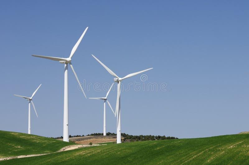 De energie van de wind royalty-vrije stock afbeelding