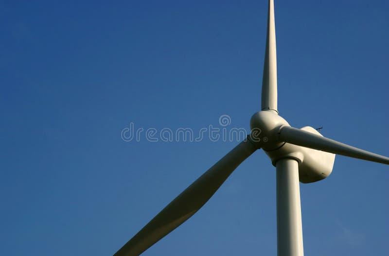De energie van de wind royalty-vrije stock afbeeldingen