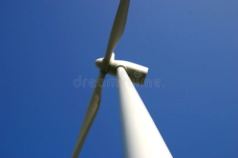 De energie van de wind stock foto's