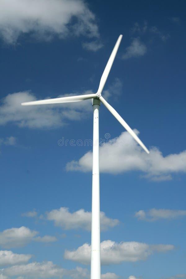 De energie van de wind stock afbeeldingen