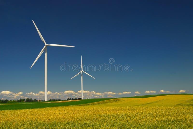 De energie van de wind royalty-vrije stock fotografie