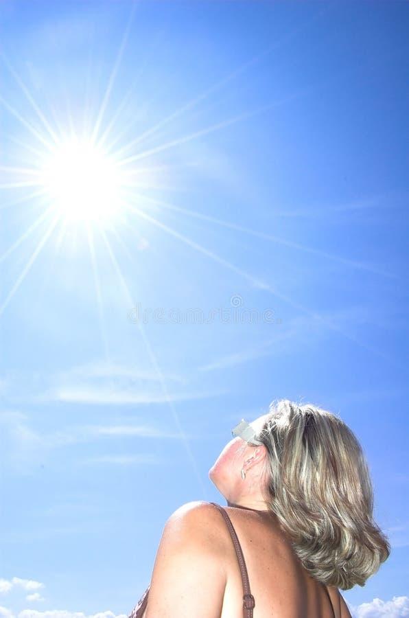 De energie van de zon royalty-vrije stock foto