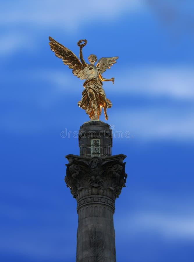 De Engel van de onafhankelijkheid royalty-vrije stock foto's