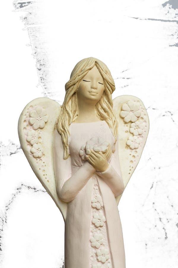 De engelen bidden voor ons stock foto's