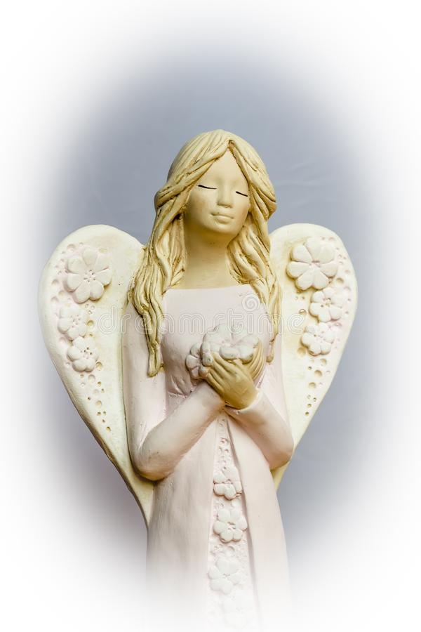 De engelen bidden voor ons royalty-vrije stock fotografie