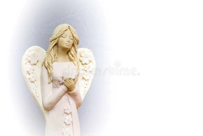 De engelen bidden voor ons stock afbeelding