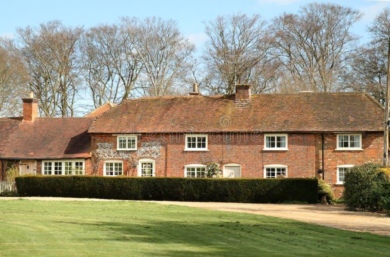 De Engelse Huizen van het Dorp stock fotografie