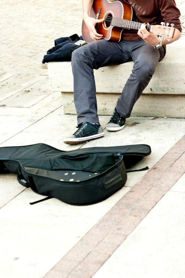De entertainer van de straat   stock afbeelding
