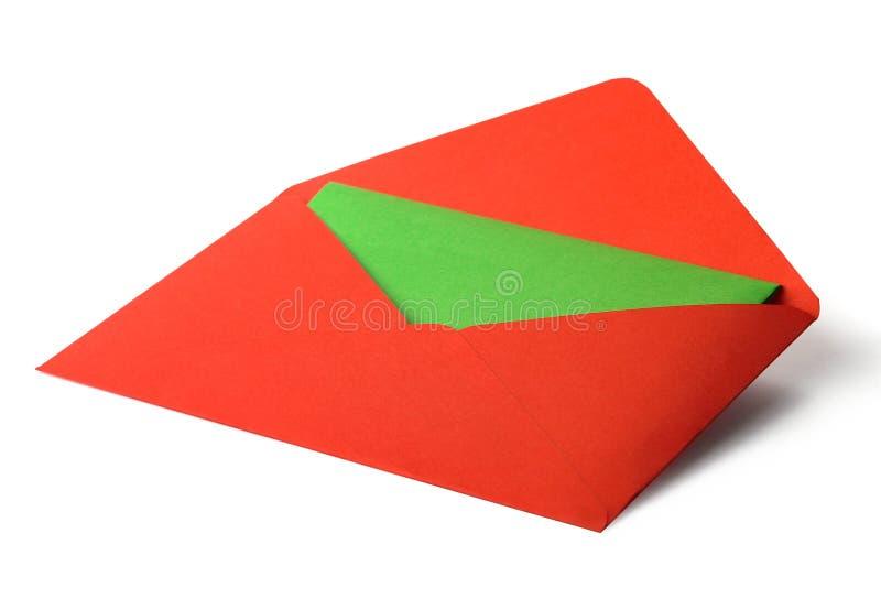 De envelop van de kleur stock afbeeldingen