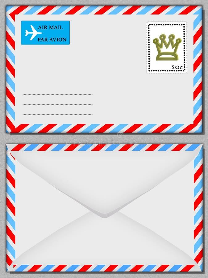 De envelop van de lucht stock illustratie
