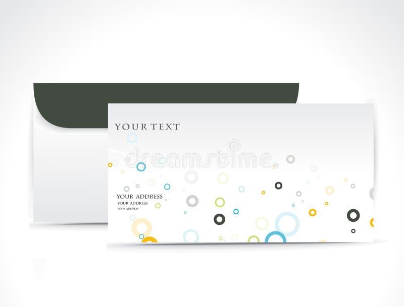 De envelop van het document vector illustratie