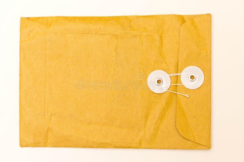 De Envelop van het Memorandum van het bureau royalty-vrije stock fotografie