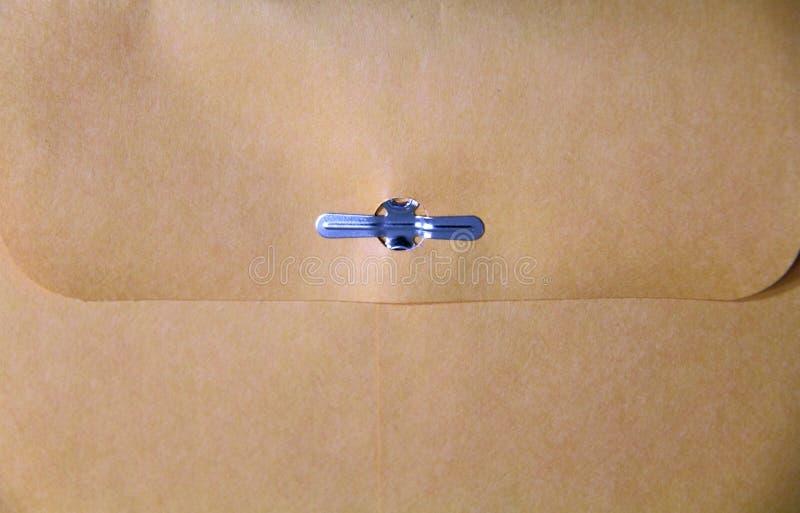 De Envelop van Manilla royalty-vrije stock fotografie