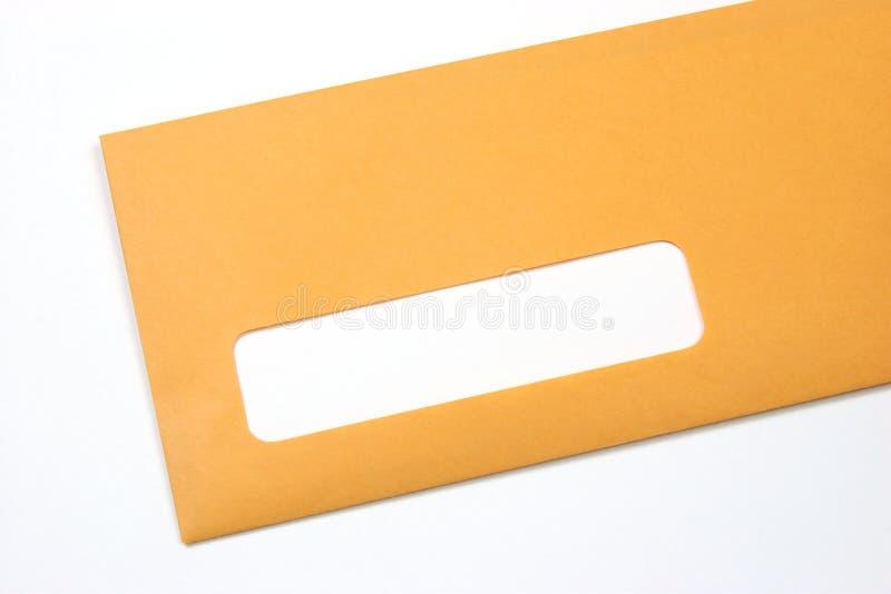 De envelop van Manilla royalty-vrije stock foto